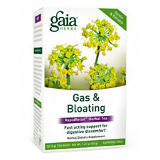 Gaia Herbs Gas and Bloating Rapid Relief Herbal Tea - 16 Tea Bags