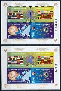 [P15346] Bosnia 2006 : EUROPA - 2x Good Very Fine MNH Perf + Imperf Sheet