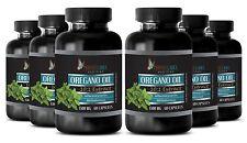Oregano Oil 1500mg - Supports Immune System, Digestive, Respiratory (6 Bottles)