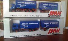 2 x MAN HZ Reber Germersheim Melle
