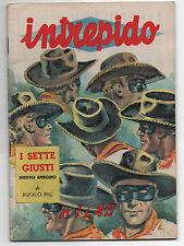 Vecchio Fumetto/Giornale INTREPIDO N.1 del 1961,collezione, vignette, giochi