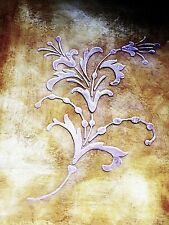 Wall Stencil, Plaster Stencil, Furniture Stencil, Heavenly Blossom