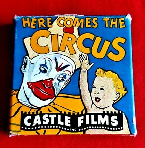 Here Comes The Circus Castle Films 8mm film