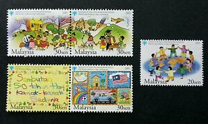 Malaysia 50th World Children's Day Celebration 2003 Drawing Painting (stamp MNH