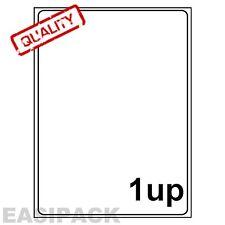 1000 Sheets Address laser Inkjet LABELS 1 UP 199 x 289mm