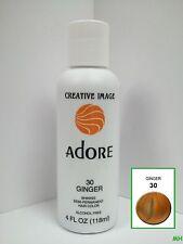 CREATIVE IMAGE ADORE SEMI PERMANENT HAIR COLOR #30 GINGER 4oz