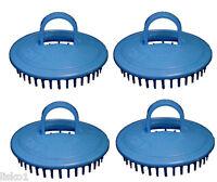 Century #100 Shampoo Scalp Massage Hair Brush (4-blue)