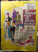 Marcel Carne Jan Mara Plakat Cinema 1962 Du Mouron Für Les Kleine Vögel