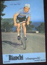 RIK VAN LINDEN Alex cyclisme Signée BIANCHI 70s Team autographe cycling ciclismo