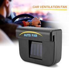 Car Window Solar Sun Power Air Vent Cool Fan Cooler Energy Ventilation Radiator