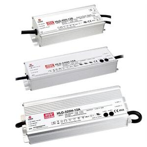 MeanWell LED Power Supplies HLG Series IP65 IP67 Transformer Driver Power supply
