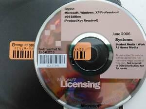 Microsoft Windows XP Professional x64 Edition Full Version w/ Permanent License