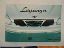 daewoo leganza in manuals literature ebay rh ebay ca Daewoo Cars Daewoo Matiz
