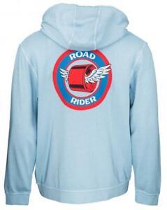 SANTA CRUZ - Road Rider Hoody - Skateboard Hoodie - Blue - MEDIUM