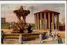 Rom, Roma, Tempio di Vesta, Tempel und Brunnen, 1924 nach Hannover