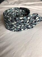 Men's Ted Baker Floral Patterned Tie Rrp £60