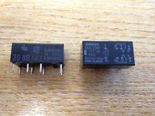 LOT OF 50pcs G6A-234P-ST-US-DC5  RELAY - MAKE: OMRON    8 PIN THROUGH HOLE