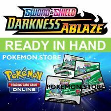 36 Darkness Ablaze codes Pokemon TCG Online Booster ptcgo swsh 3 enviado dentro del juego rápido