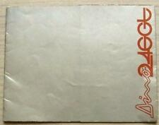 FERRARI DINO 246GT Car Sales Brochure 1970 ENGLISH TEXT #N.41/70