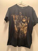 Trivium Heavy Metal Band Shirt Mens Medium 2006 Graphic Tee Concert Tour Rock T