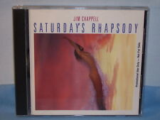 Saturday's Rhapsody By Jim Chappell 1990 CD Promotional Music West Records