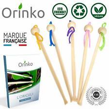 Oriculi en Bambou 5x - Cure Oreille Écologique pour Remplacement Coton Tige