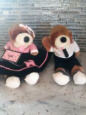 Lula and Bebop Bears - North American Bear Company 1987 - Preowned