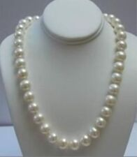 "14K Solid Gold Clasp 8-9MM White Akoya Pearl Necklace 18""AAA"