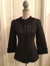 Designer Armani Collezioni Black Blazer Size 6 *Gorgeous*