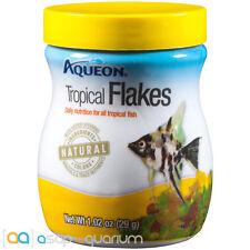 Aqueon Tropical Flakes Fish Food 1.02oz Jar Fast Free USA Shipping