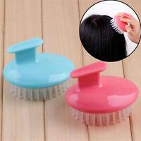 Body Washing Brush  Comb Tool Silicone Hair Massage Comb Washing