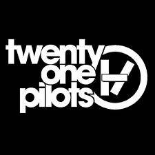 Twenty One Pilots vinyl sticker decal 21 pilots logo