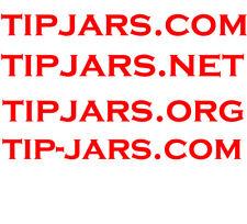 tipjars.net - tipjars.org - tip-jars.com