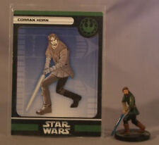 Star Wars Miniatures Corran Horn with Card