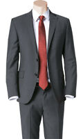 Ermenegildo Zegna Suit Size 42R darkgray  NEW Cloth   100% Wool  MADE IN ITALY