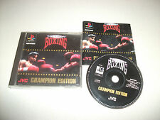 Sony PlayStation 1 Boxing 3+ Rated PAL Video Games