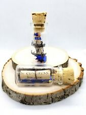 The US Constitution Declaration of Independence July 4 1776 in a bottle NEW