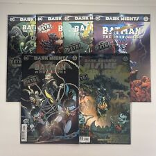 Dark Nights Batman Who Laughs and Other Dark Knights Dc Comics 2017 Lot