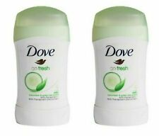 2 X  DOVE STICK CUCUMBER & GREEN TEA ANTIPERSPIRANT DEODORANT 40ML