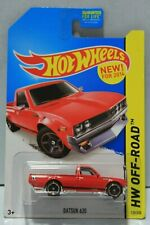 2014 HOT WHEELS OFF-ROAD #139/250 DATSUN 620 UTE PICK-UP RED NEW RELEASE 1:64 3+