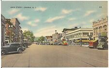View on Main Street in Orange NJ Postcard