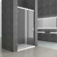 NEW! Frameless Shower Enclosure Sliding Door 8mm Nano Glass Modern