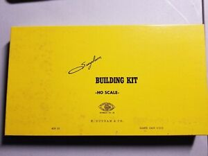 VINTAGE Suydam HO Swift Meat Packing Plant Kit #85--Wood/Cardboard:NEW OLD STOCK