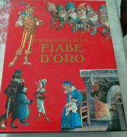 ENCICLOPEDIA DELLE FIABE D'ORO COFANETTO CON 6 FIABE EDIZIONI DAMI ANNI 80/90