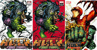 IMMORTAL HULK GREAT POWER #1 AND #31 TYLER KIRKHAM EXCLUSIVE VARIANT SET 2/12