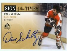 12/13 SP AUTHENTIC SIGN OF THE TIMES AUTOGRAPH AUTO DAVE SCHULTZ FLYERS *44861