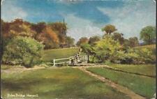 London - Hanwell - Boles Bridge - postcard by Hildesheimer c.1910s