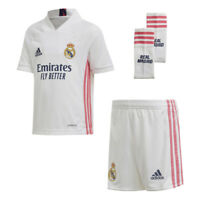 Adidas Fußball RMFC Real Madrid Home Set Mini-Heimausrüstung 2020 2021 Kinder