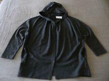 """NWT OSKA """"Vele"""" Ribbed Detail Hooded Wool Mix Jacket - size 3 14/16UK RRP£259.00"""
