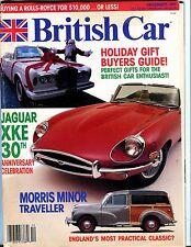 British Car Magazine December 1991 Jaguar XKE EX No ML 052217nonjhe
